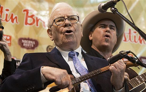 Warren Buffett on the Ukulele