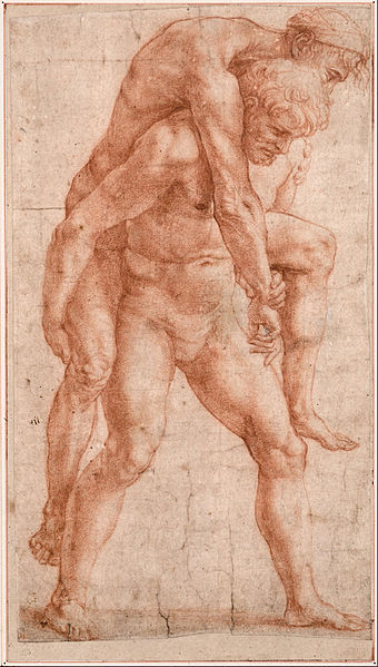 A painting by Raphael